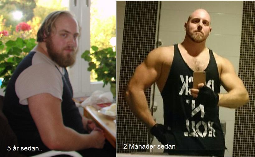 Min resa – från fet sockerätare till vältränadfettätare